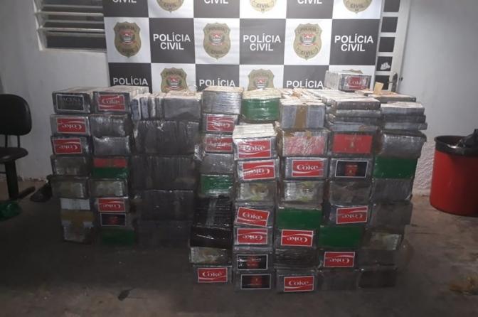 Polícia Civil de SP apreende 1,3 tonelada de cocaína pura na zona rural de Indaiatuba