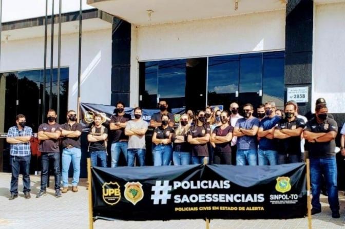 Manhã desta segunda-feira, 22, é marcada por manifestações em todo o estado do Tocantins