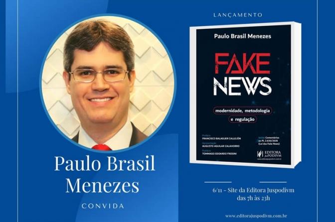Juiz de Direito do Maranhão lança livro sobre fake news e o fenômeno da desinformação global