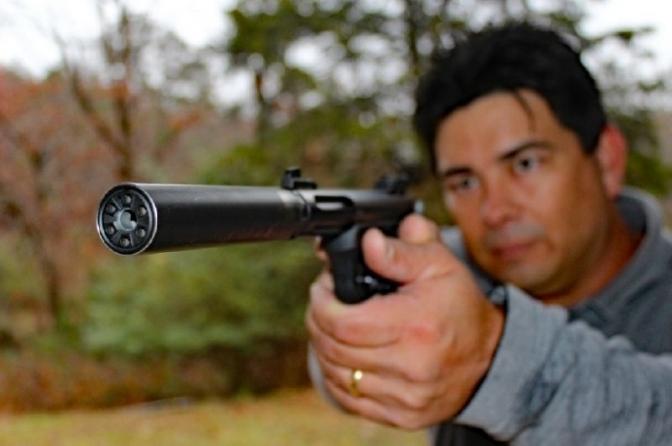 Porte e uso de 'silenciador' de arma de fogo pelo policial