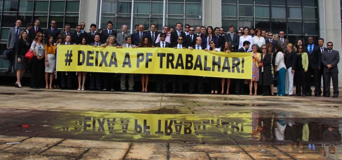 Declaração pública dos Delegados de Polícia Federal