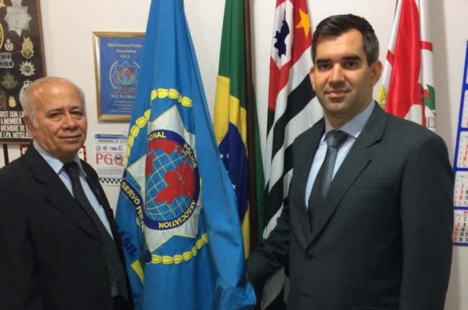 Higor Jorge representará Continente Americano pela Associação Internacional de Polícia