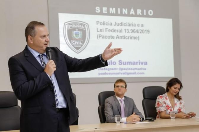 Seminário sobre mudanças em leis reúne policiais em João Pessoa