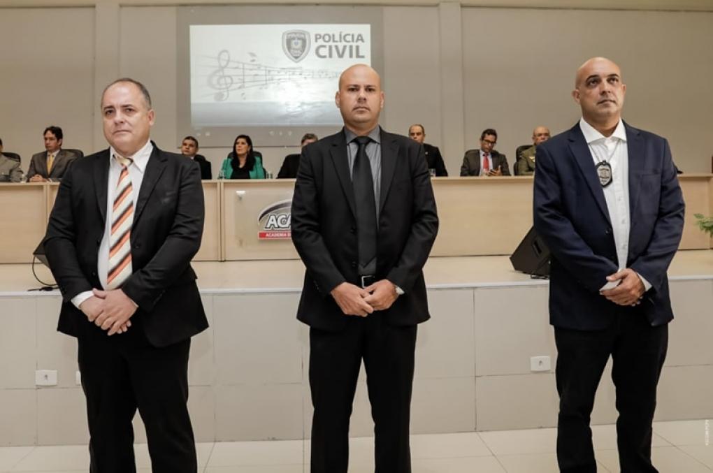 Policiais Civis da PB são homenageados por ato de bravura e relevantes serviços
