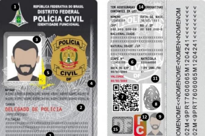 Ministério da Justiça padroniza a carteira funcional dos policiais civis dos Estados