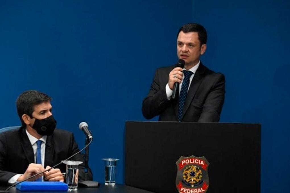Ministro Anderson Torres prestigia posse do novo Superintendente Regional da PF em São Paulo
