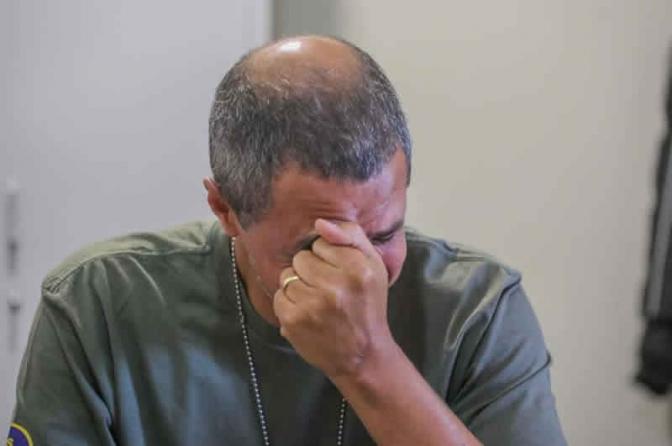 Delegado Salomão chora morte de colegas e diz que só medo de ser preso explica execuções