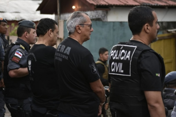 Operação em Manaus visa cumprir 30 mandados de prisão e busca e apreensão
