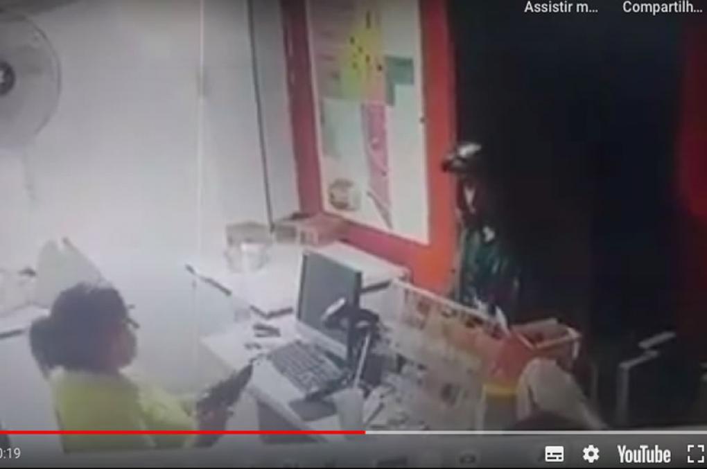 Comerciante armada é morta a tiros ao reagir mal a assalto em espetaria em MT