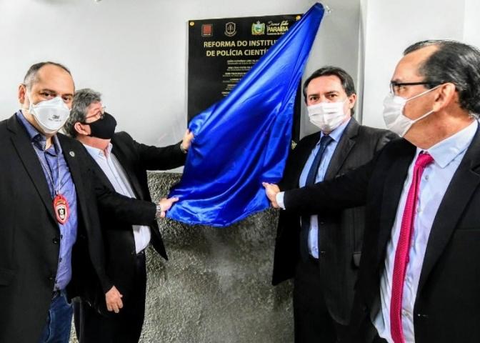 Governador Azevêdo reforma IPC de João Pessoa e parabeniza Polícia Civil pelos 39 anos de fundação