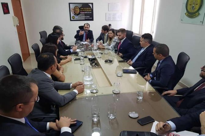 Reunião do Presidente do CONCPC com representantes de entidades de classe
