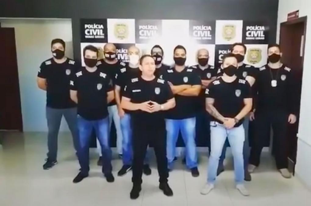 Delegado mostracelas para os'machões' que batem em mulheres! Veja o vídeo!