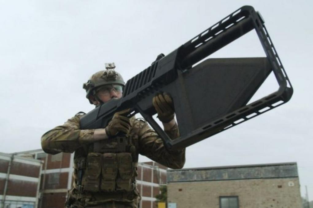 "Anatel aprova no Brasil a arma ""DroneGun Tactical"" capaz de afastar drones a distância"