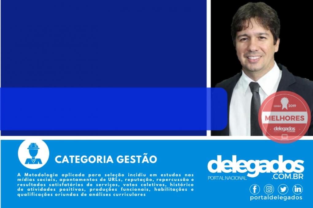 Samuel Silveira entra para a seleção dos Melhores Delegados de Polícia do Brasil! Censo 2019