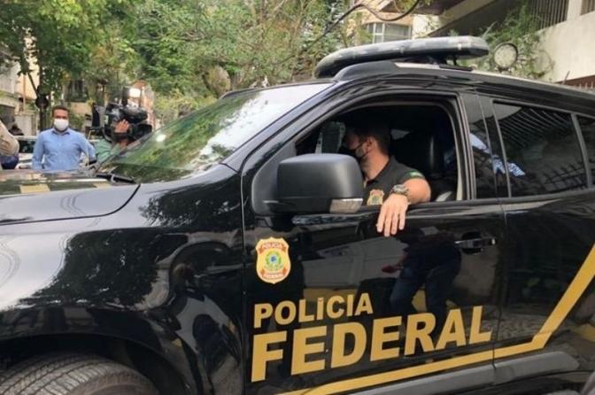 Polícia Federal faz buscas contra Sérgio Reis e deputado Otoni de Paula