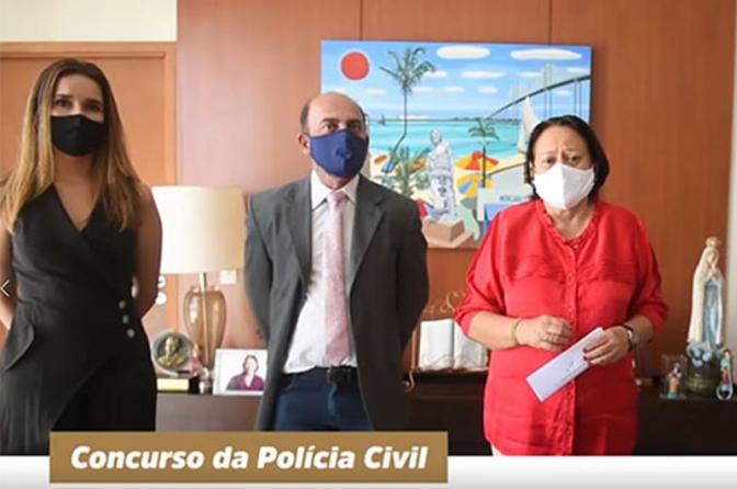 Governadora do RN confirma concurso daPolícia Civil para os próximos dias; 'salários' até R$ 25,6 mil!