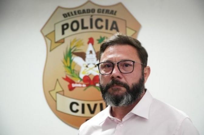 Marcos Ghizoni é o novo delegado-geral da Polícia Civil de Santa Catarina