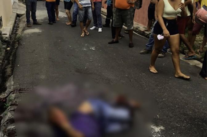 Assaltante leva tiro na perna após atacar delegado de polícia do PI