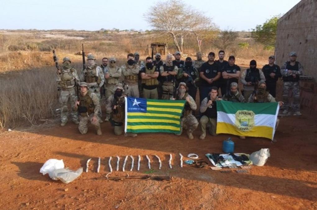 Policiais Civis do Piauí e da Paraíba prendem líder e membros do bando 'Novo Cangaço'