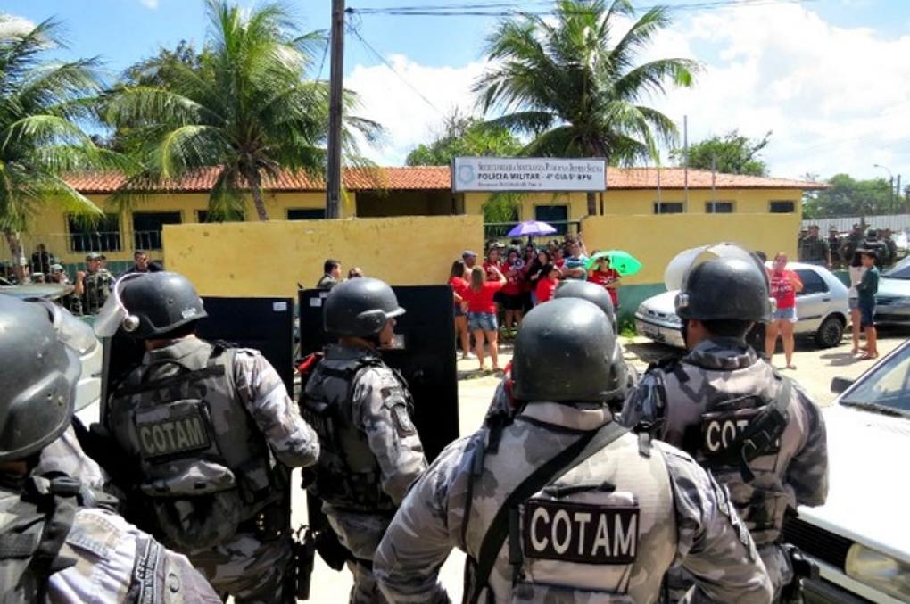 Policiais militares do interior do Ceará já começam a fazer TCO's!
