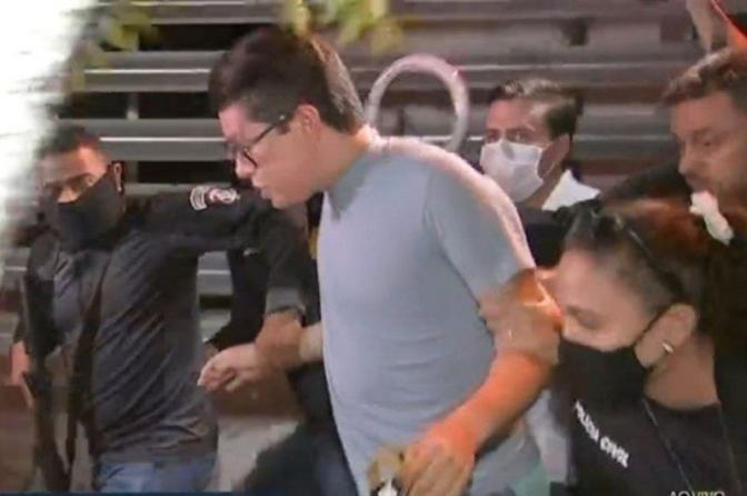 DJ Ivis é preso na Grande Fortaleza por agressões contra ex-mulher, Pamella Holanda