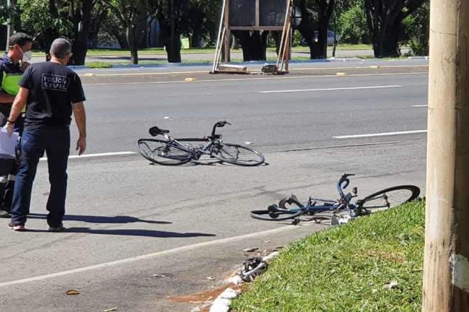 Delegado da PCDF Fernando César é atropelado e fica em estado grave