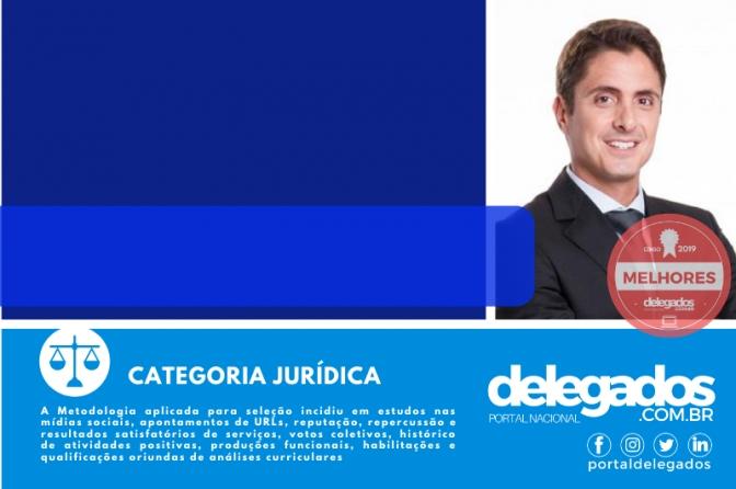 Francisco Sannini é tri entre os Melhores Delegados de Polícia do Brasil! Censo 2019