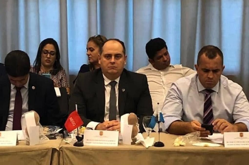 Isaías Gualberto representa a Paraíba na reunião do Conselho de Chefes de Polícia Civil em Salvador
