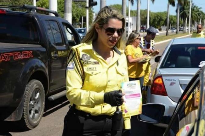 Agente de trânsito não pode portar arma de fogo. Temer veta projeto de lei!