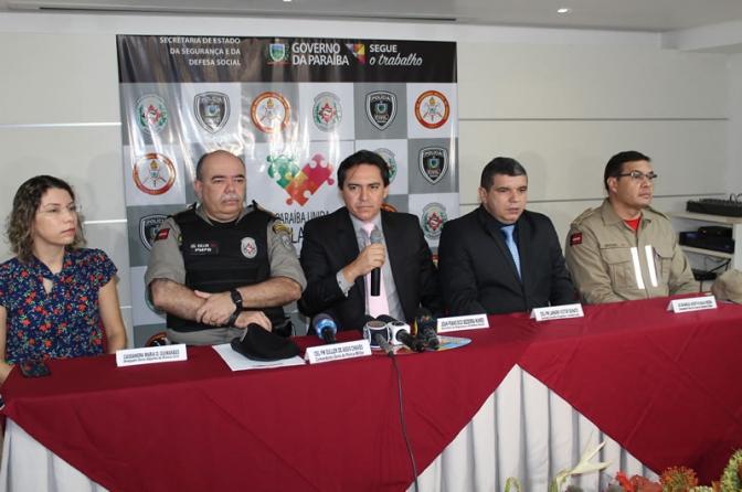 Secretário Jean anuncia 3 mil policiais e Operação Lei Seca na Folia de Ruada PB
