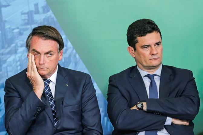 Sergio Moro anuncia seu pedido de exoneração do governo Bolsonaro