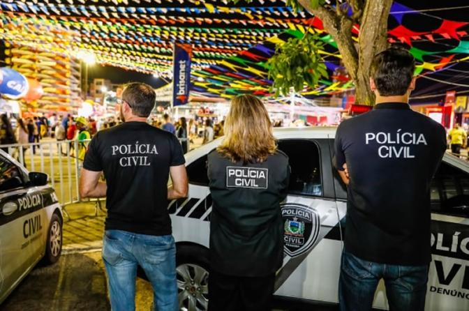 Polícia Civil da Paraíba apresenta resultado das ações no Maior São João do Mundo!