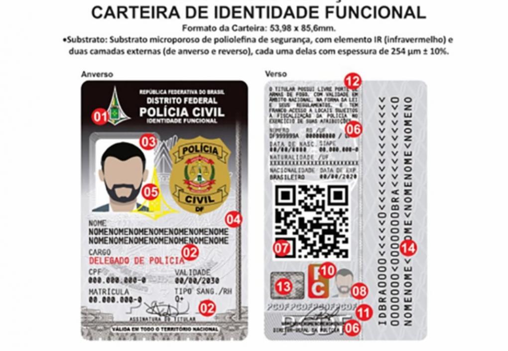 Ministério da Justiça padroniza identidade funcional dos policiais civis em todo o Brasil