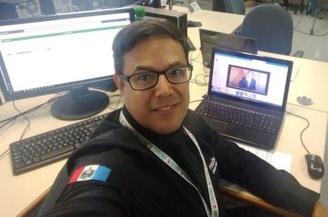 Nota de falecimento do agente da Polícia Civil João Leonardo