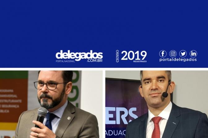 Reghelin, Leitão e Herlon estão entre os Melhores Delegados de Polícia do Brasil!