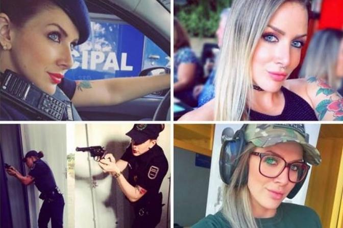 Mulheres da polícia também ganham fãs pela beleza!