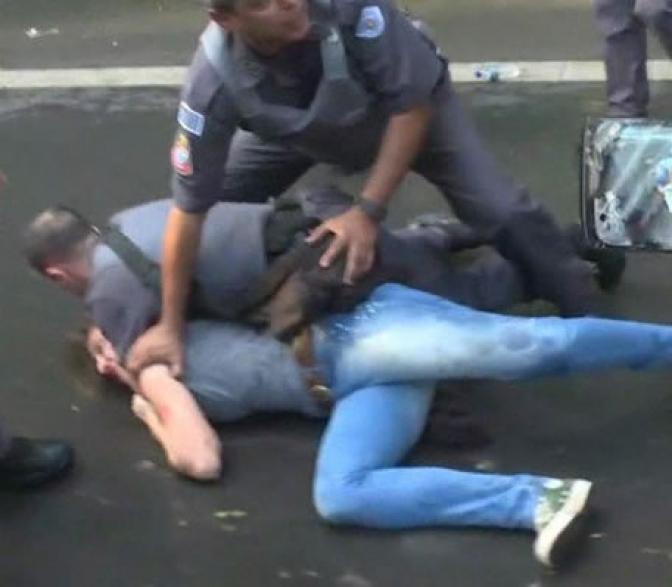 Policial pede ajuda em delegacia após ser agredida e ameaçada pelo marido