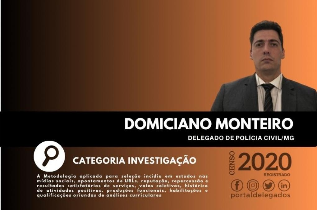 Domiciano está na Lista dos Melhores Delegados de Polícia do Brasil! Censo 2020