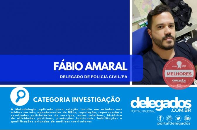 Fábio Amaral é incluído na Lista dos Melhores Delegados de Polícia do Brasil! Censo 2019