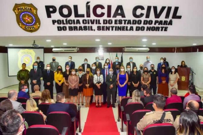 Novo delegado-geral de Polícia Civil do Pará é apresentado à equipe e anuncia prioridades