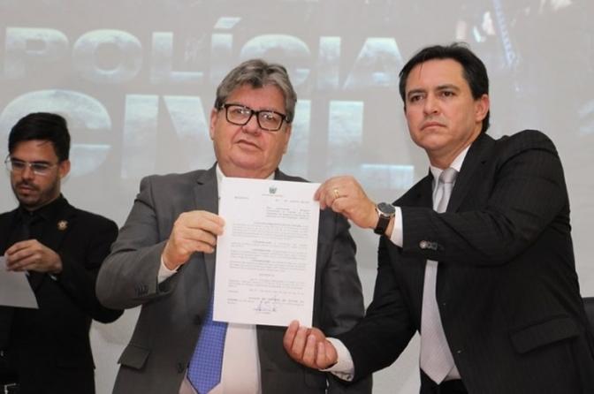 Polícia Civil da Paraíba conquista autonomia financeira! Exemplo para o Brasil