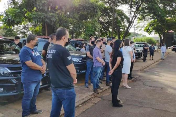 Delegado critica Lei de Abuso de Autoridade durante homenagem a policiais da Derf