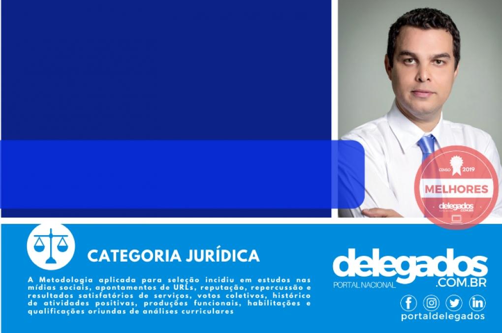 Joaquim Leitão confirma de novo vaga nos Melhores Delegados de Polícia do Brasil! Censo 2019