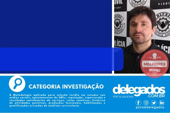 Alfredo Cadena mantém título nos Melhores Delegados de Polícia do Brasil! Censo 2019