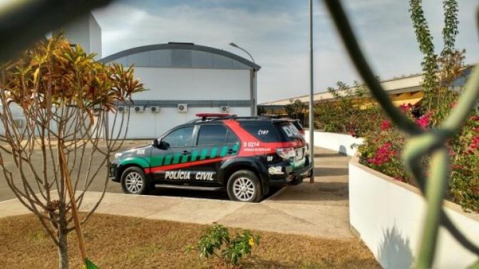 Polícia Civil faz busca e apreensão no Cespe