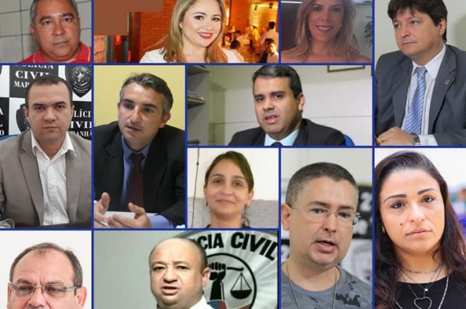 Delegados do interior do Maranhão são destaques no combate à criminalidade