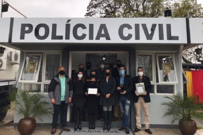 Polícia Civil Gaúcha recebe o reconhecimento da Assembleia pela repressão a crimes no campo