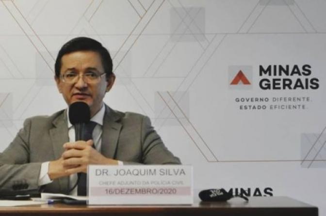 Governo de Minas anuncia Joaquim Silva como novo delegado-geral da Polícia Civil