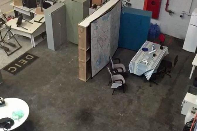 Grupos de elite da Polícia Civil de SP se alojam em hangar com goteiras