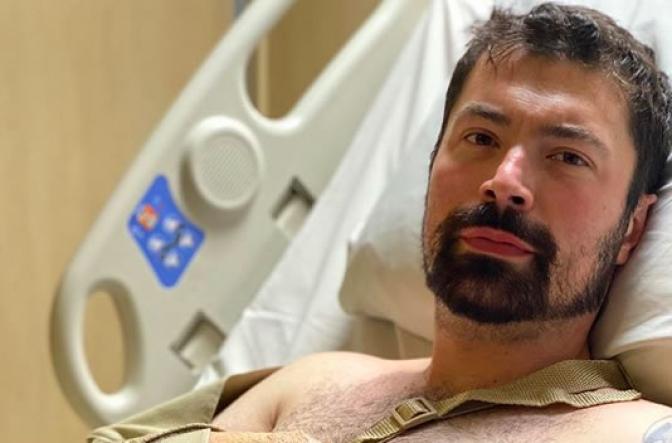 Delegado Bilynskyj passa por nova cirurgia para tentar recuperar dedo